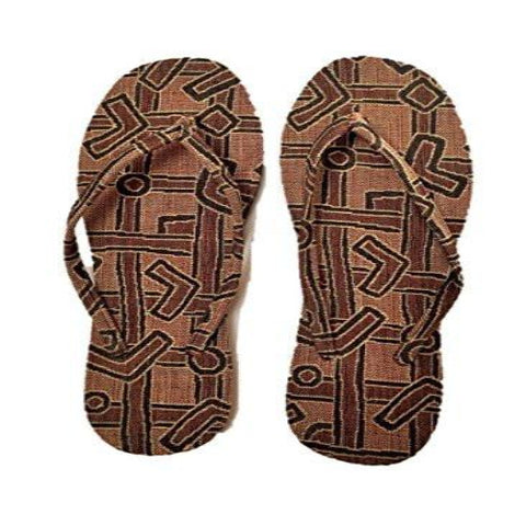 "NUNO Sandals: ""Basho"" (Red/Black/Beige, Large)"