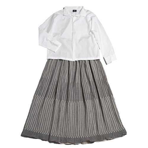"NUNO Skirt: ""Chain"" (Black/White)"