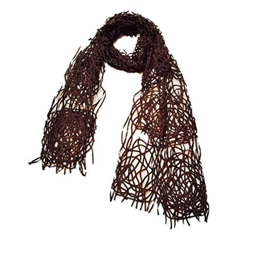 "NUNO Scarf: ""Rose"" (Brown)"