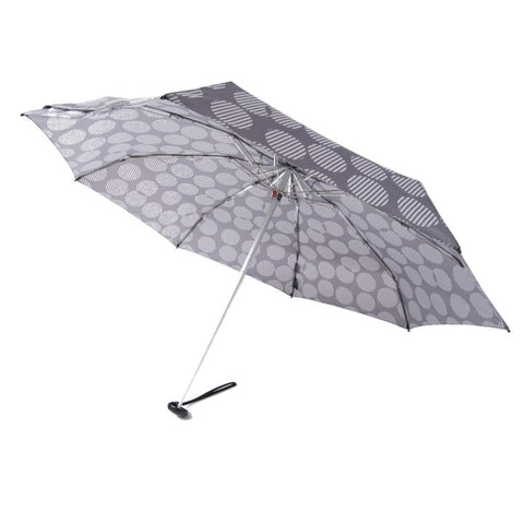 "Knirps x NUNO Ultra-Compact Umbrella: ""Amatsubu"" (Gray)"