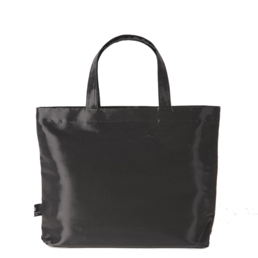 "NUNO Square Bag: ""Coal"" (Ebony)"