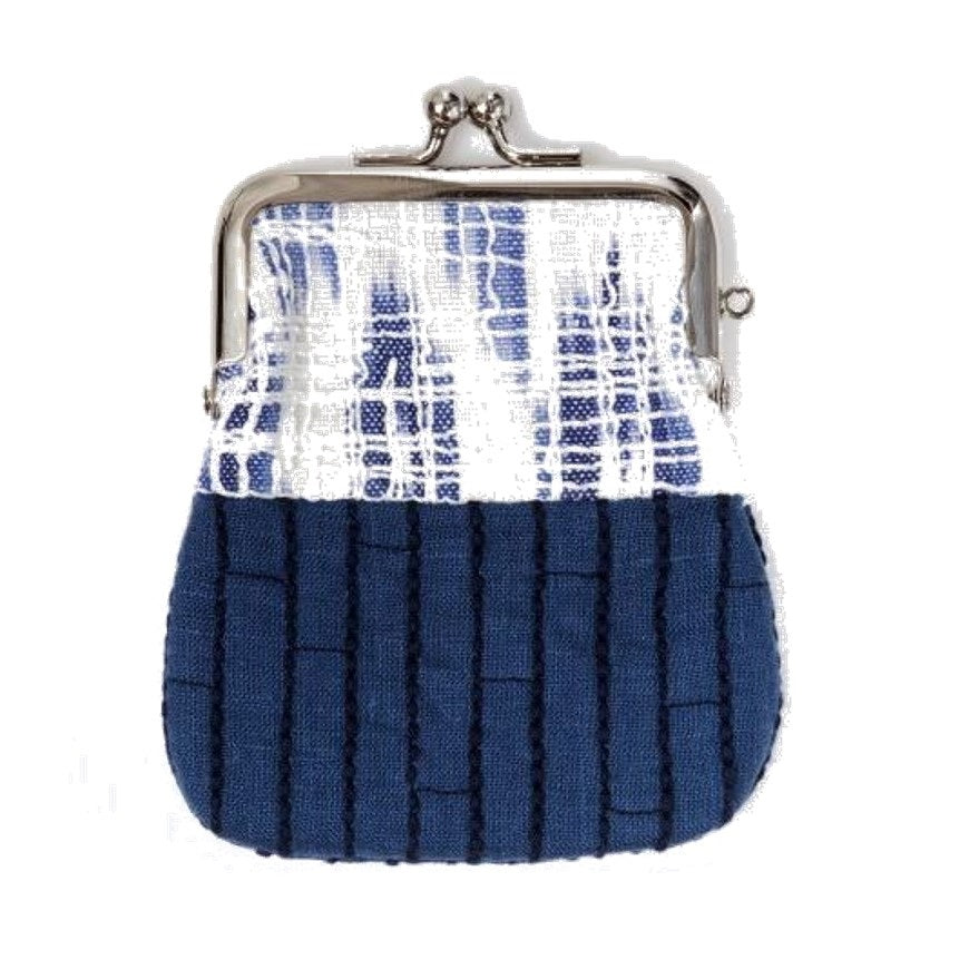 "NUNO Coin Purse: ""OriOri"" (Blue/White)"