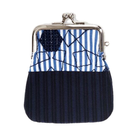"NUNO Coin Purse: ""OriOri"" (Navy/Blue/White)"