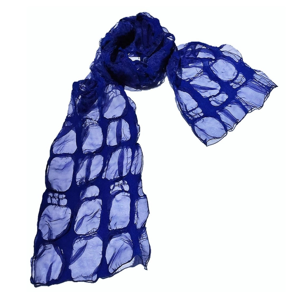 "NUNO Scarf: ""Clouds"" (Blue)"