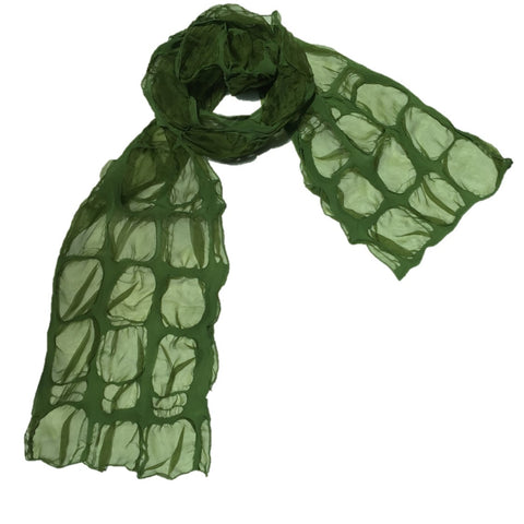 "NUNO Scarf: ""Clouds"" (Green)"