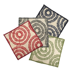 "NUNO 4-Coaster Set: ""Phylum"" (Assorted Colors)"
