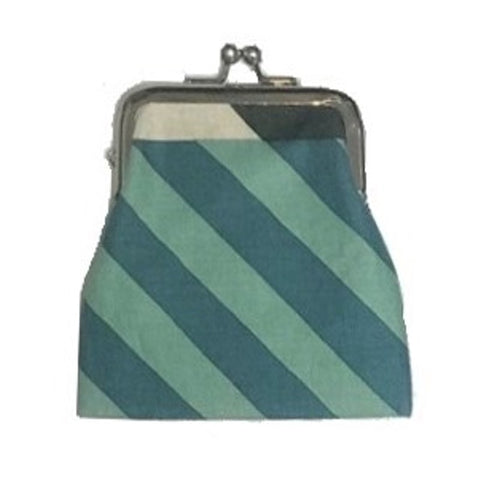 "NUNO Coin Purse: ""Silkscreened"" (Blue/Green/Black/White)"