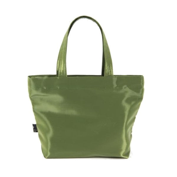 "NUNO Tote: ""Coal"" (Small, Matcha)"