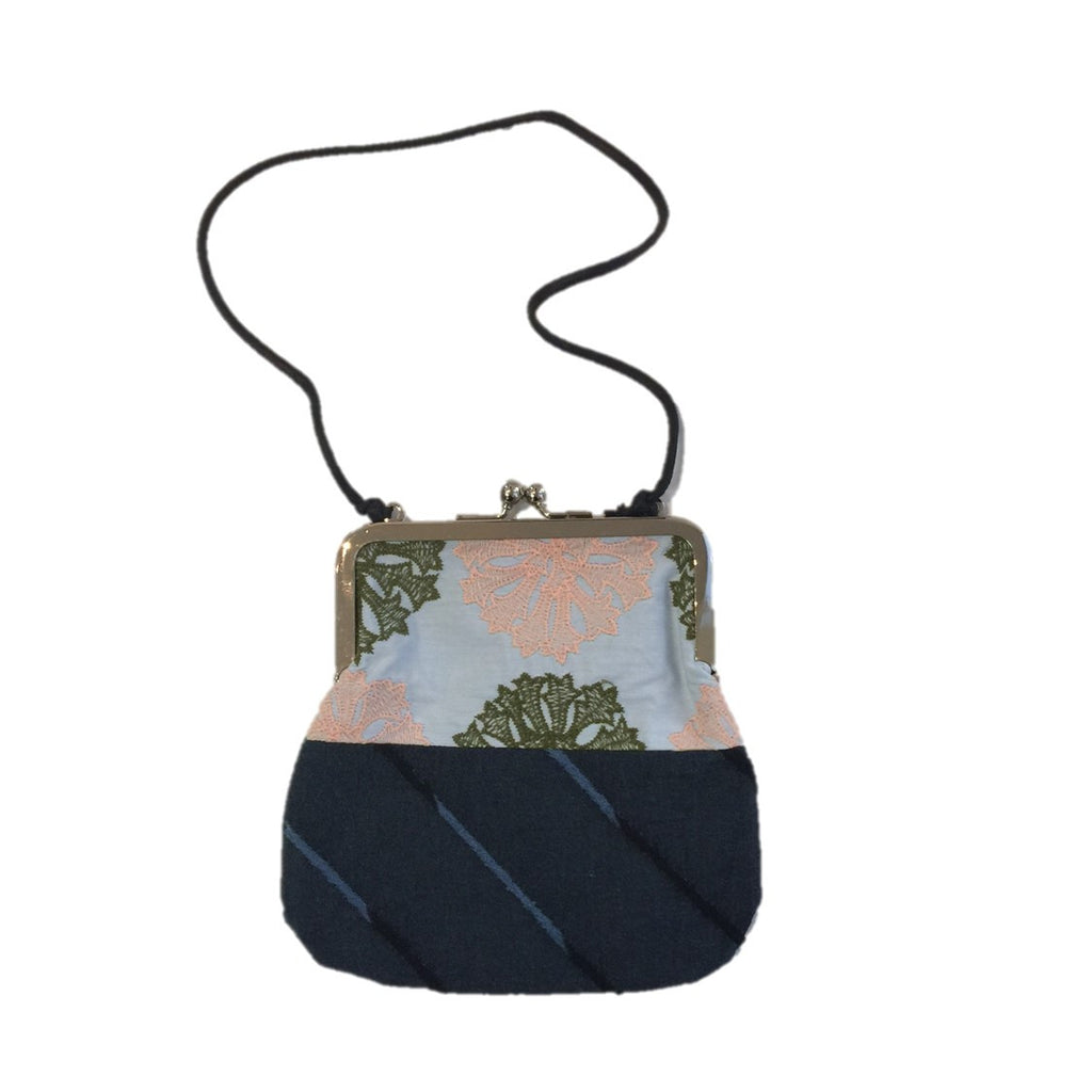 "NUNO Purse: ""OriOri"" (Blue/Navy/Green/Coral)"