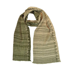 "NUNO Narrow Shawl: ""Kana"" (Green)"