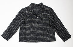 "NUNO Kibiso Jacket: ""Not Knots"" (Black)"