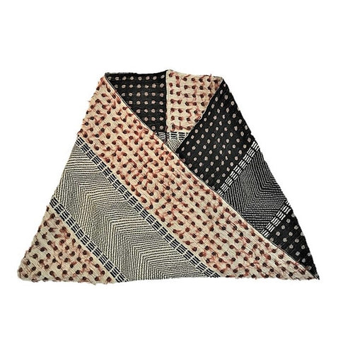 "NUNO Infinity Shawl/Shrug: ""Lentils"" (Red/White/Black)"