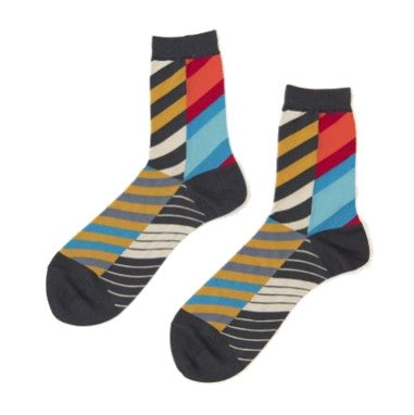 "ANTIPAST Socks: ""Arrow Feathers"" (Multicolored)"