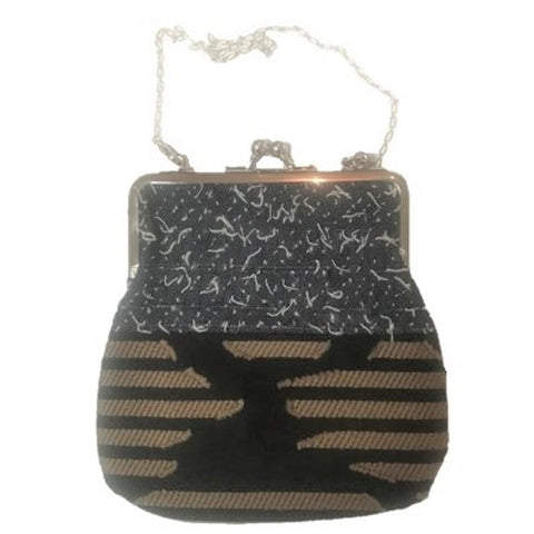 "NUNO Purse: ""OriOri"" (Navy, Beige, Black)"
