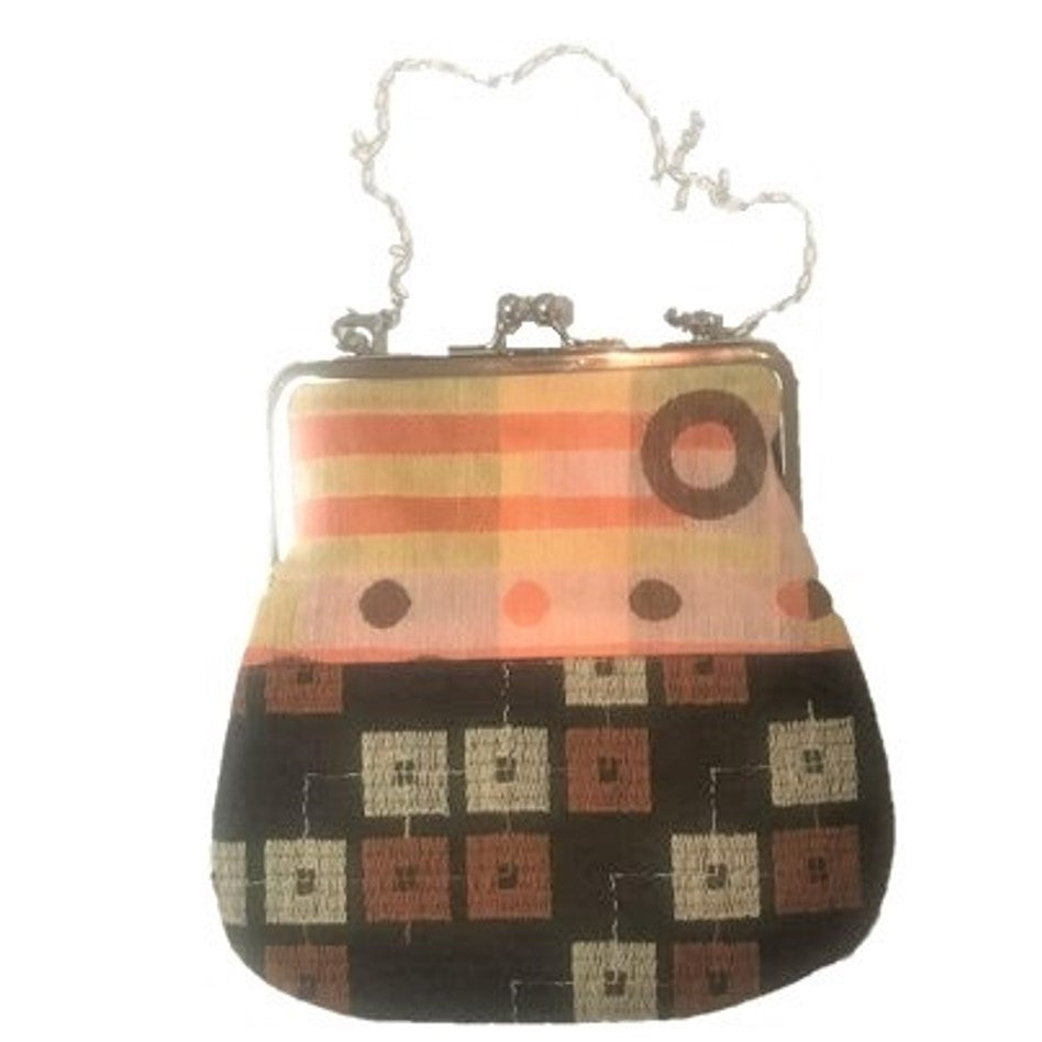 "NUNO Purse: ""OriOri"" (Orange, Yellow, Brown)"