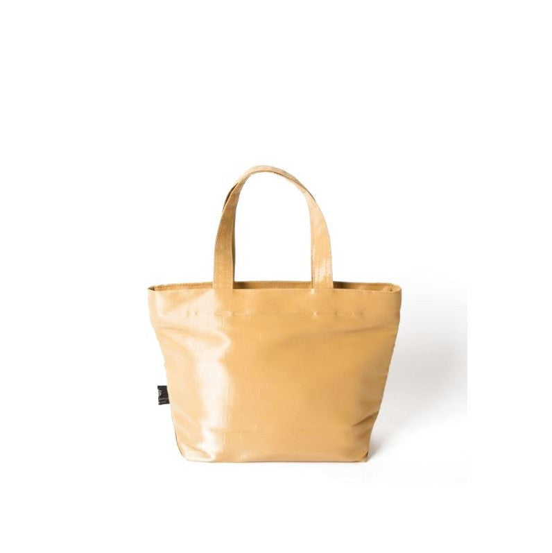 "NUNO Tote: ""Coal"" (Small, Gold)"