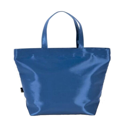 "NUNO Tote: ""Coal"" (Medium, Peacock Blue)"