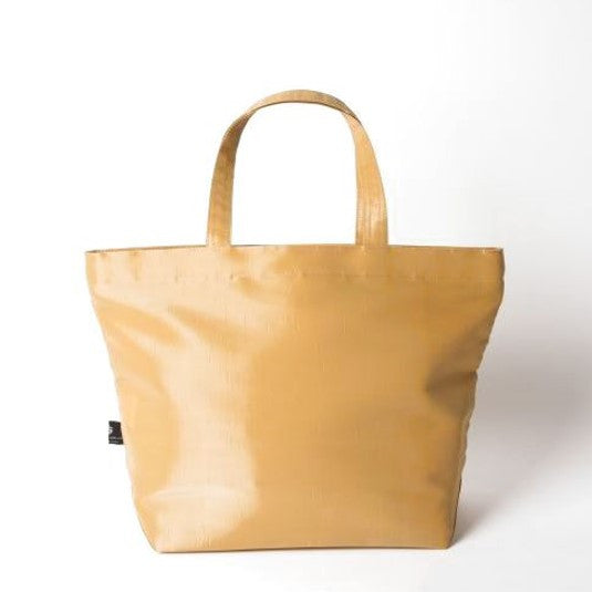 "NUNO Tote: ""Coal"" (Medium, Gold)"