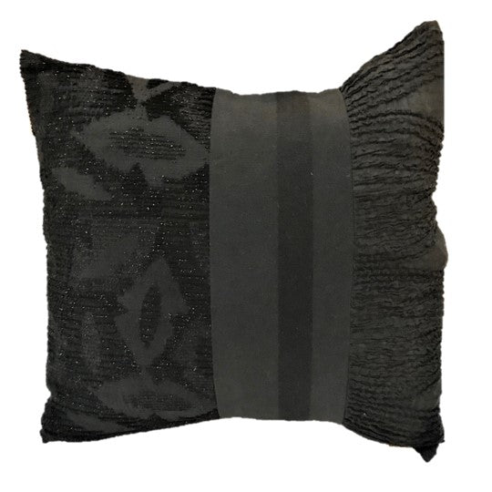 "NUNO Mini Throw Pillow: ""OriOri"" (Black)"