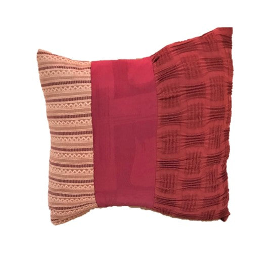 "NUNO Mini Throw Pillow: ""OriOri"" (Red)"