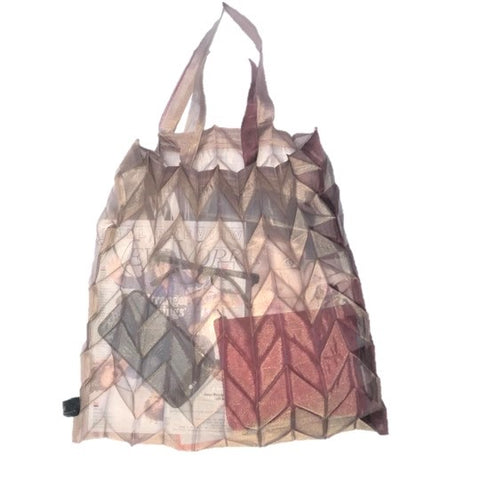 "NUNO Bag: ""Organdy Pleats"" (Mauve)"