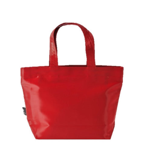 "NUNO Tote: ""Coal"" (Small, Carmine)"