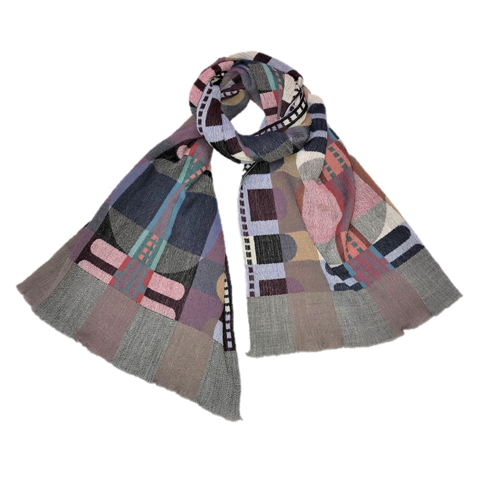 "NUNO Shawl: ""Roll Up"" (Multicolored)"