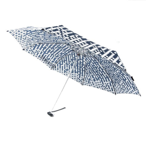 "Knirps x NUNO Ultra-Compact Umbrella: ""Suiteki"" (Navy/White)"