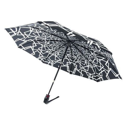 "Knirps x NUNO Umbrella: ""Taki"" (Black/White)"