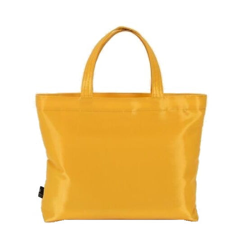 "NUNO Square Bag: ""Coal"" (Saffron)"
