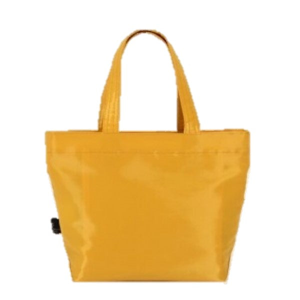 "NUNO Tote: ""Coal"" (Small, Saffron)"