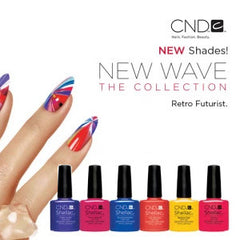 CND Shellac Gel Polish NEW WAVE Collection NEW SHADES 2017