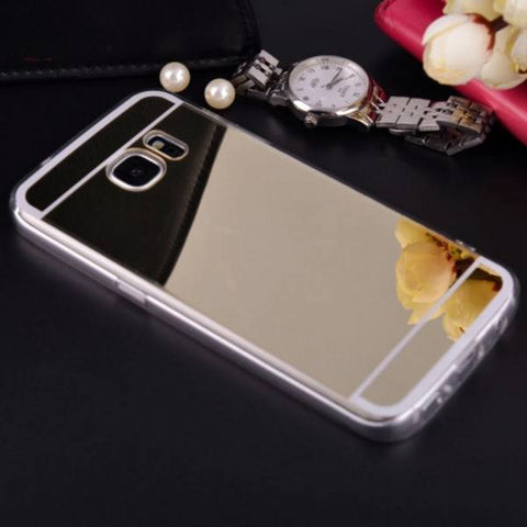 Galaxy S5 Gold Mirror - scase - 1