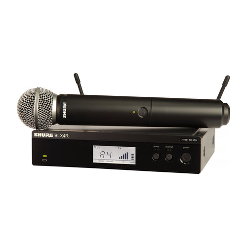 Shure BLX24R/SM58 Wireless Handheld System
