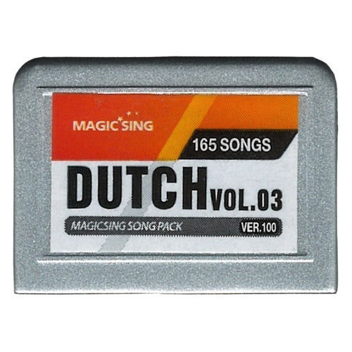 Magic Sing Chip Dutch-3 165 Songs