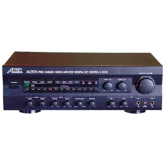 Audio 2000's AKJ-7076 Karaoke Mixing Amplifier