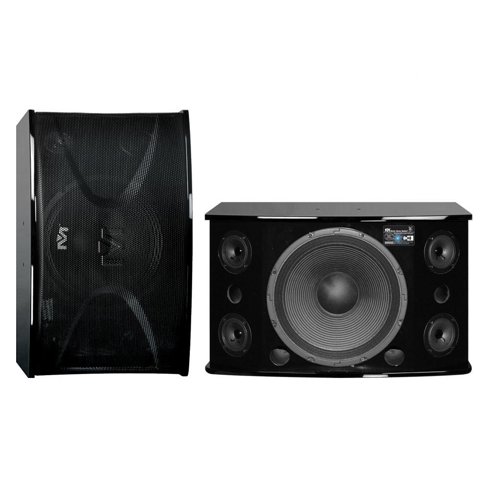 Better Music Builder CS-812 G3 (PAIR) Professional 1200W Karaoke Vocal Speakers (Piano Finish)