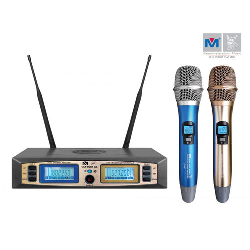 Better Music Builder VM-92U G5 Dual Channel UHF Wireless Microphone System