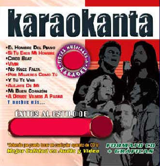 Karaokanta KAR-4452 Exitos Top Hits XXII