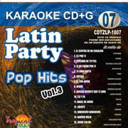TROPICAL ZONE LATIN PARTY LP1007 Pop Hits Vol. 3
