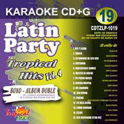 TROPICAL ZONE LATIN PARTY LP1019 Tropical Hits Vol 4