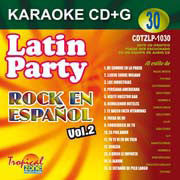 TROPICAL ZONE LATIN PARTY LP1030 Rock en espanol Vol. 2