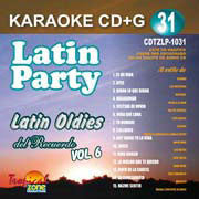 TROPICAL ZONE LATIN PARTY LP1031 Latin Oldies Vol 6