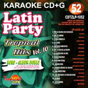 TROPICAL ZONE LATIN PARTY LP1052 Tropical Hits Vol 10