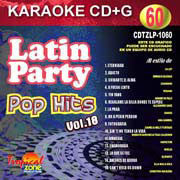 TROPICAL ZONE LATIN PARTY LP1060 Pop Hits Vol.8