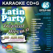 TROPICAL ZONE LATIN PARTY LP1065 Tropical Hits Vol. 13