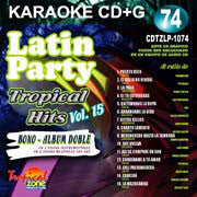 TROPICAL ZONE LATIN PARTY LP1074 Tropical Hits Vol. 15