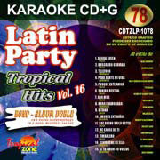 TROPICAL ZONE LATIN PARTY LP1078 Tropical Hits Vol. 16