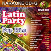 TROPICAL ZONE LATIN PARTY LP1082 Pop Hits Vol. 25