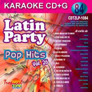 TROPICAL ZONE LATIN PARTY LP1084 Pop Hits Vol. 26